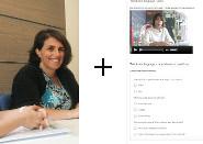 Una lezione con il docente più e-learning