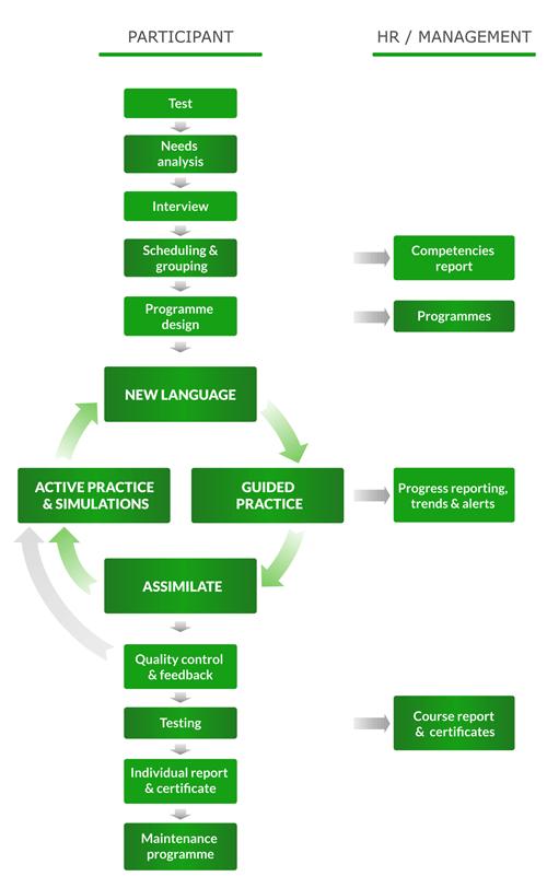 Il ciclo formativo, da pianificazione e svolgimento a comunicazione e valutazione