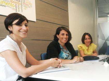 Lezione di gruppo con il docente e 2 studenti