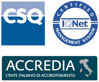 Logos of our ISO 9001 certification bodies